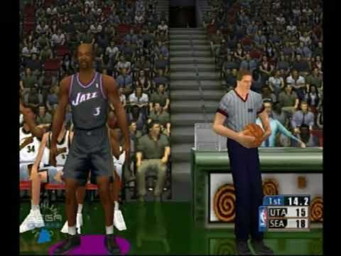 Dreamcast NBA 2k1 online