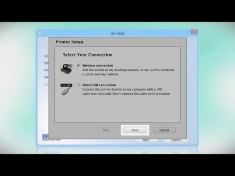 Connecting Your Printer to a Wireless Network Using a Temporary USB Connection