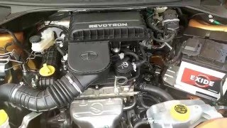 Tata Zica petrol engine sound (Start, idle, rev, stop)