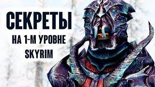 Skyrim - СЕКРЕТЫ НА 1-ом УРОВНЕ в SKYRIM SPECIAL EDITION
