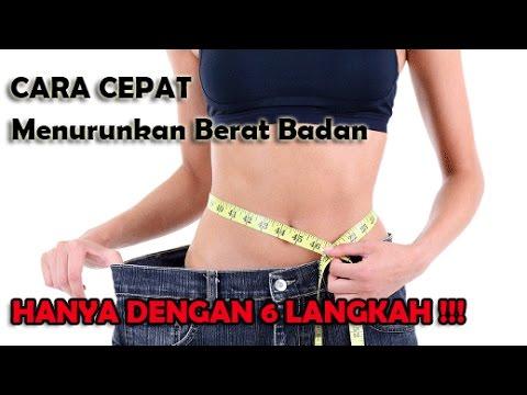 Berat badan diet penurunan cair