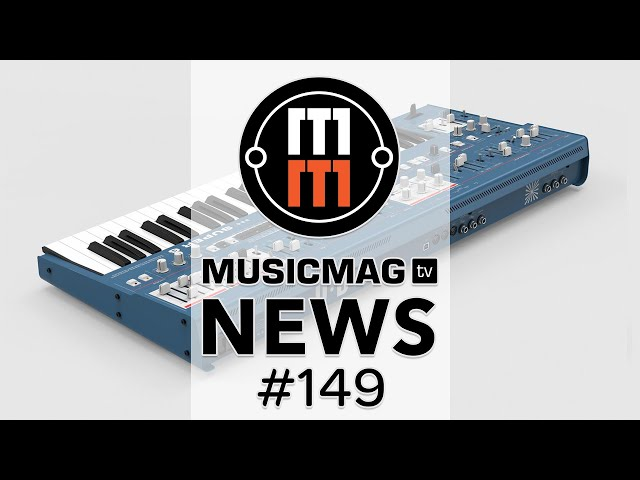 MusicMagTV News #149: Korg Volca Sample 2, MicroFreak Vocoder Edition, NI Complete 13 и др.