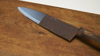 How To Restore a Rusty Knife