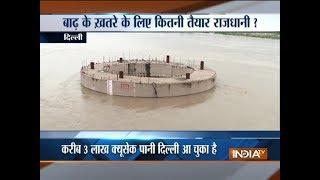 Yamuna river crosses danger mark after 11 lakh cusec water released from Hathni Kund barrage