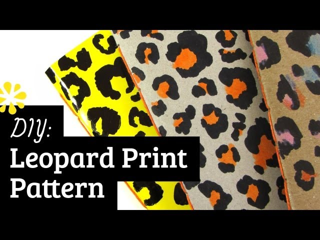 How To Draw Cheetah Print