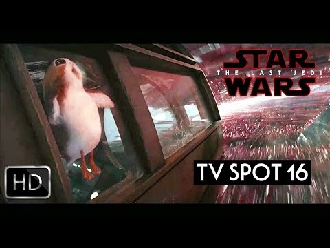 Star Wars The Last Jedi TV Spot Trailer 16 HD
