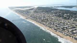 Landing at First Flight in the Outer Banks