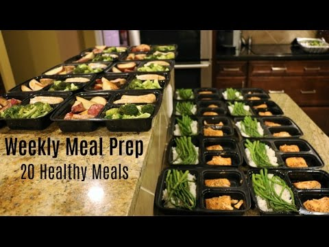 Video Weekly Meal Prep - 20 Healthy Meals
