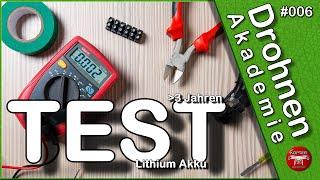 Dji Phantom • 3 • Professional • Flugzeit Test • 3 Jahre alter Akku • Drohnen Akademie