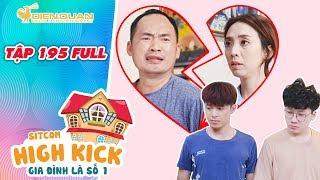Gia đình là số 1 sitcom | tập 195 full: Hoàng Anh dẫn 2 con trai ra khỏi nhà vì li dị với Đức Hạnh