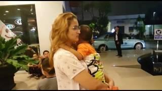 Video Gempa Surabaya Penghuni Hotel Panik