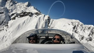 RV Aircraft Video - Epic Aerobatic Flight in the Purcell Mountains | 4K