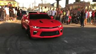 CAMARO HITS TELEPHONE POLE | NEW ORLEANS TAKEOVER