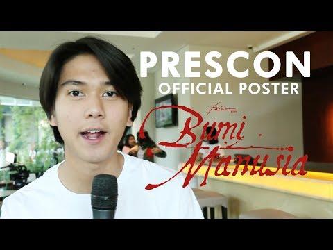BUMI MANUSIA   Press Conference Official Poster   15 Agustus 2019 di Bioskop
