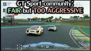 GT Sport Online - Moral of the story