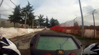preview picture of video 'Minimoto jagd Pitbikes in  Rozzano / Mailand'