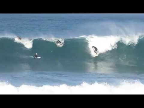 Solid fun waves at Bullies surfing spot