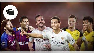 Die besten Scorer-Duos in Europa, mit Reus, Sancho, Neymar, Mbappe, Messi, Suarez