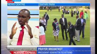 Kenya National Prayer Breakfast: Kenyans come together to worship GOD