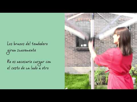 Tendedero Tipo Paraguas Lift-O-Matic Advance de Brabantia