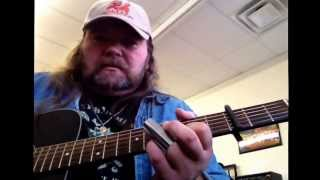 Black Lung Heartache acoustic guitar lesson...Joe Bonamassa
