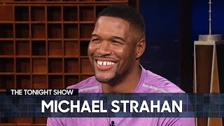 Michael Strahan Says Good Morning America Is More Intimidating Than the NFL | The Tonight Show