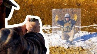 Getting Shot At Behind Bulletproof Glass