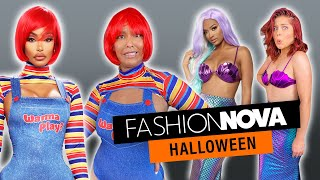 We Try Fashion Nova's CRAZIEST Halloween Costumes for 2020!! by Clevver Style