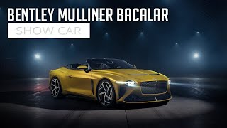 Bentley Mulliner Bacalar - Show Car