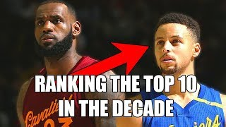 Ranking The Top 10 NBA Players From This Decade (2010s)