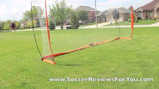 BowNet Portable Soccer Goal 8'x24'