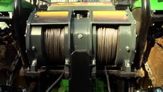 UNIFOREST - Nadgradnja gozdarskega traktorja JOHN DEERE 6115M - 2X85H /  2X85Hpro