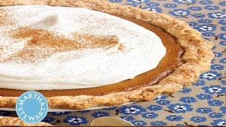 Pumpkin Cream Pie | Thanksgiving Recipes | Martha Stewart