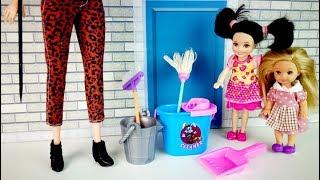 СТРОГОЕ НАКАЗАНИЕ Мультик #Барби Катя Школа Девочки Играют В Куклы IkuklaTV