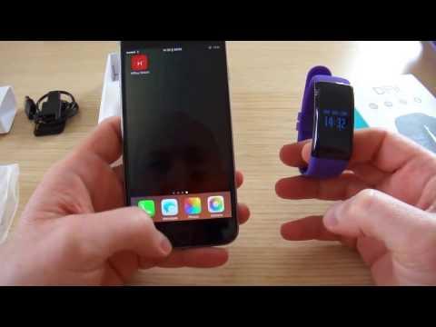 Relógio Inteligente H3 Smartband Rastreador De Fitness