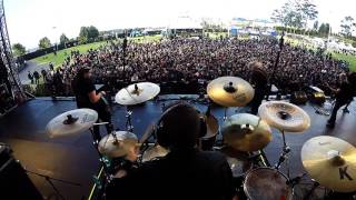 Barón Rojo - Hermano del rock and roll - Quitofest 2017 (Drum Cam)