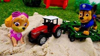 Видео для детей. Веселая школа. Профессия фермер.