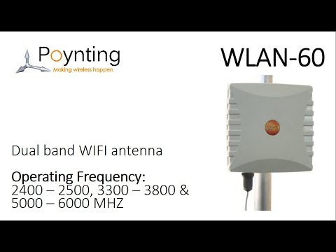 Poynting WLAN-60 Wifi Antenne