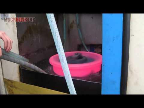 Индукционная закалка кранового колеса 2