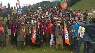 200 hardcore workers of Congress party today joined BJP*