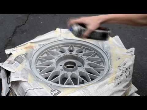 How to Paint Your Wheels for Automobiles E30 BMW