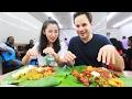 Malaysian Street Food Tour in Kuala Lumpur Malaysia HUGE Chinese Indian and Malay Food JOURNEY
