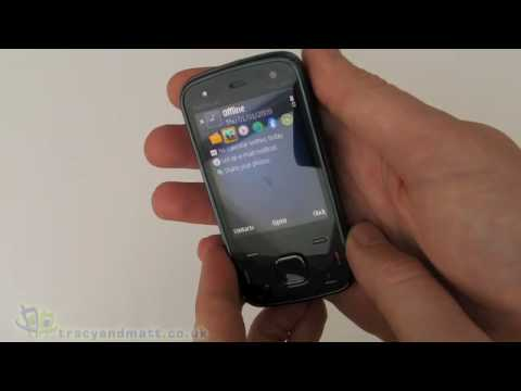 Nokia N86 unboxing video