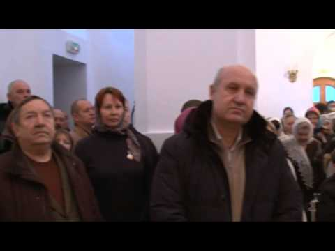 Божественная литургия в храме петра и павла