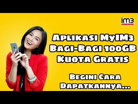 Video Cara mendapat kuota Indosat 500MB - 100GB GRATIS