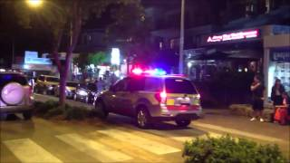MVA Scene - Queensland Police Service + Queensland Ambulance Service + Queensland Fire & Rescue