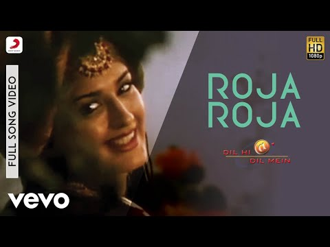 Download A.R. Rahman - Roja Roja Video | Dil Hi Dil Mein | Sonali Bendre HD Mp4 3GP Video and MP3