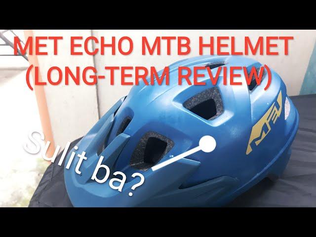 Видео Шлем MET Echo MIPS Petrol Blue (matt)
