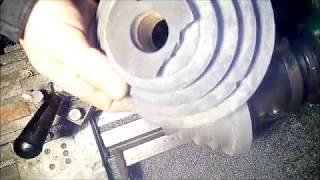Шкив литье + токарка (aluminum casting)