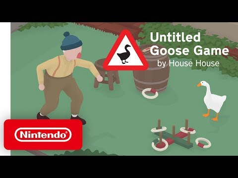 Untitled Goose Game - Launch Trailer - Nintendo Switch thumbnail